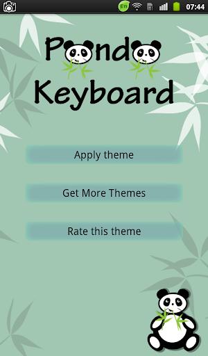 Panda Keyboard