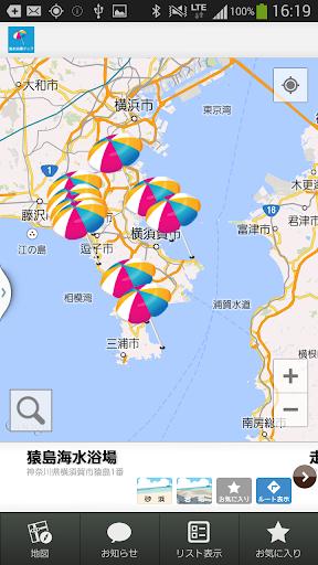 海水浴場マップ