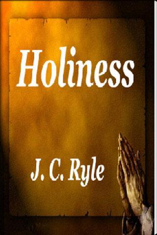 Holiness : J. C. Ryle