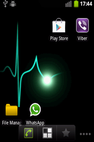 Heart Monitor Live Wallpaper