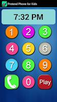 Screenshot of Pretend Phone for Kids