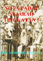 Screenshot of NOTA PADAT SEJARAH T5
