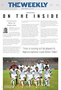 The FIFA Weekly (Tablets)- screenshot thumbnail