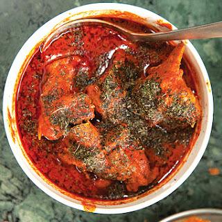 Mirchi Qorma (Kashmiri Lamb in Chile Sauce)