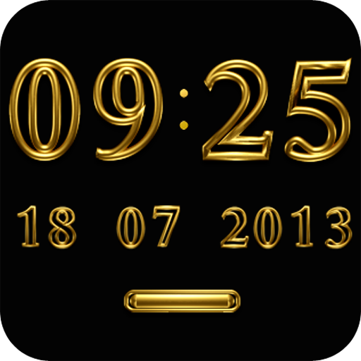 TRILUS Digital Clock Widget