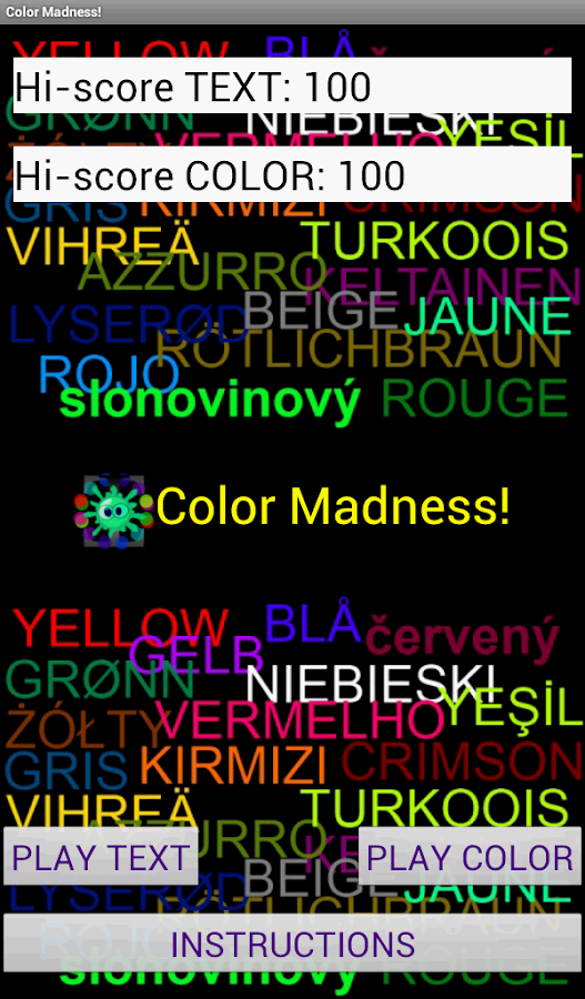 Color Madness! - screenshot