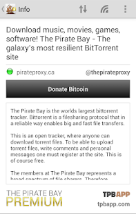 pirate bay premium apk
