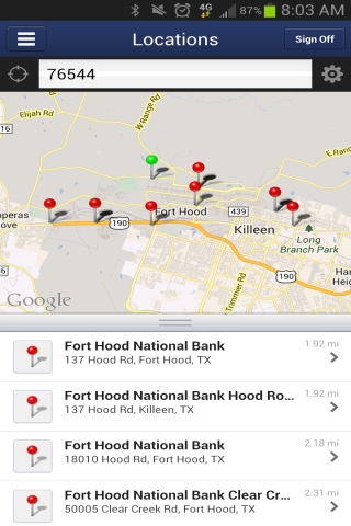FHNB Mobile Banking- screenshot