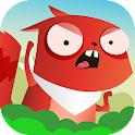Funny Squirrel races for nuts icon