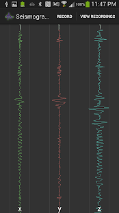 Seismograph- screenshot thumbnail