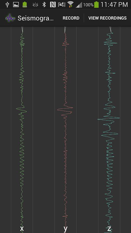 Seismograph - screenshot
