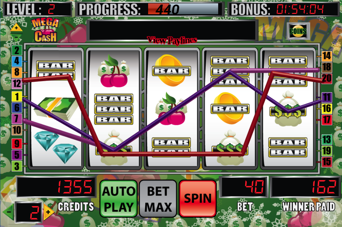 Mega Cash Slot Machine - screenshot