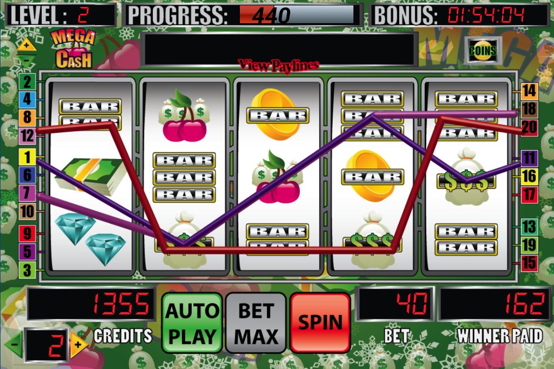 Mega Cash Slot Machine - screenshot