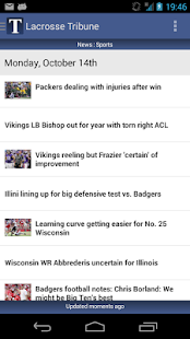 Lacrosse Tribune - screenshot thumbnail