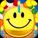 Animated Birthday Emoji icon