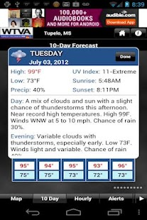 WTVA Weather - screenshot thumbnail