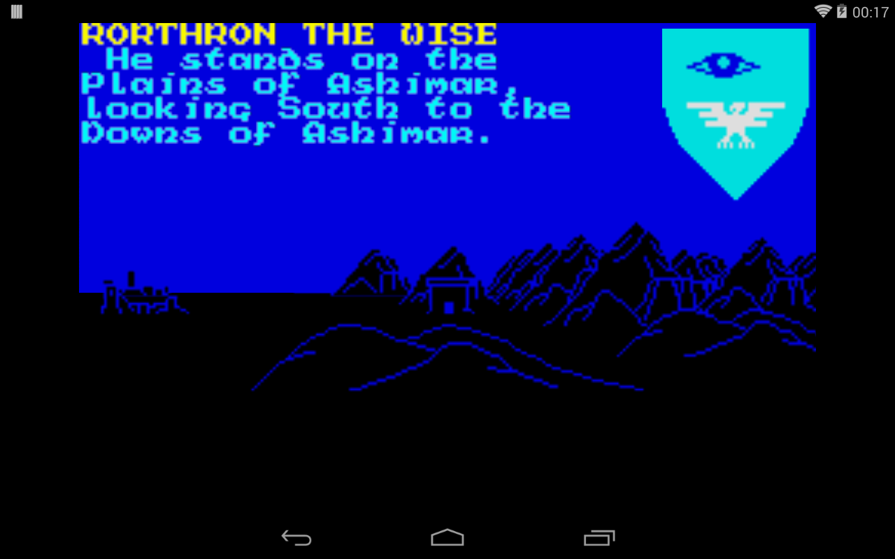 The Lords of Midnight: 8 bit- screenshot