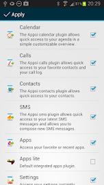 Appsi sidebar Screenshot 8
