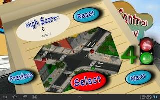 Screenshot of Traffic Control Emergency