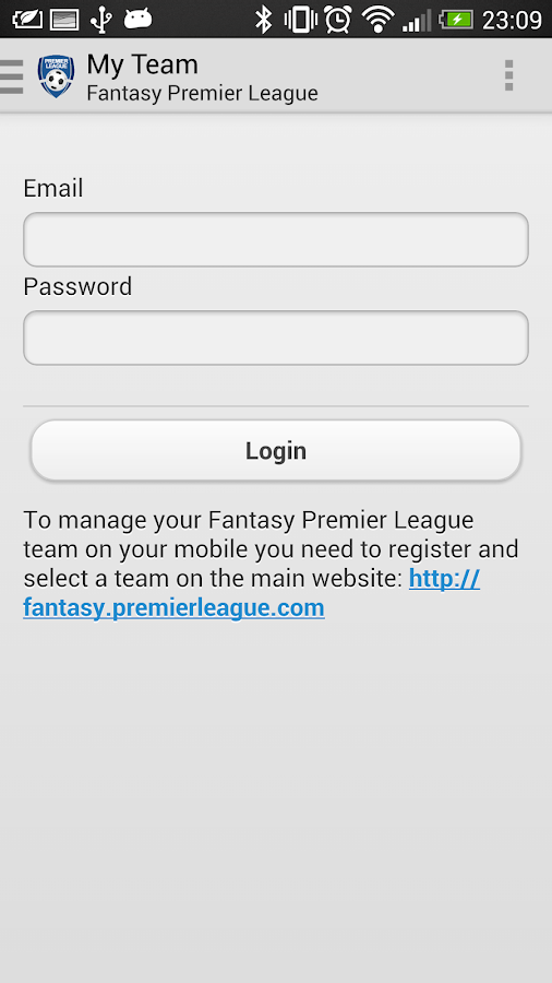 Fantasy Premier League - screenshot