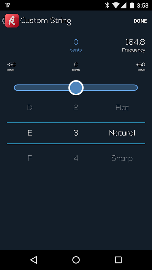 Roadie Tuner- screenshot