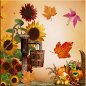 Fall Leaves for Thanksgiving logo