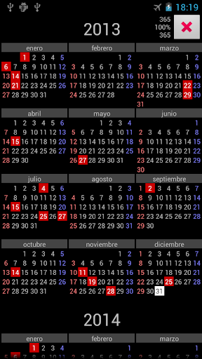 PR Holidays Annual Calendar