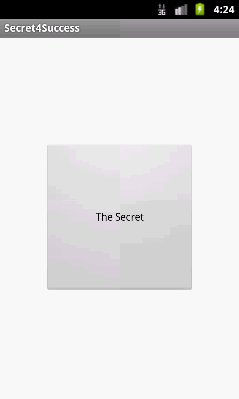 Secret for Success - screenshot