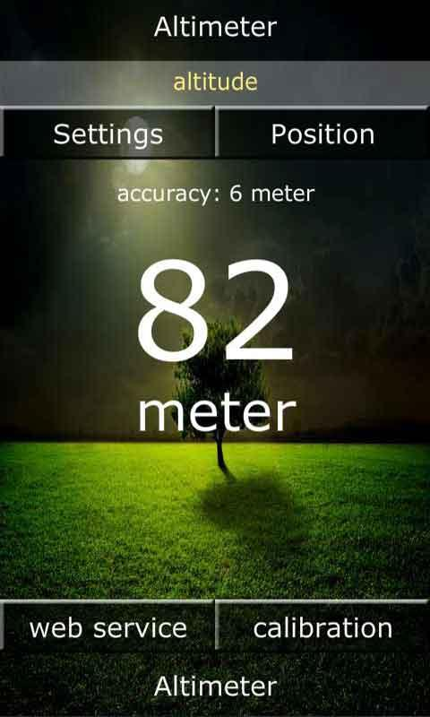 Altimeter - screenshot