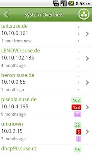 SUSE Manager Mobile (beta) - screenshot thumbnail