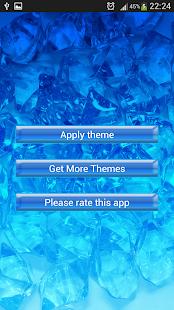 Klávesnice modré krystalky - náhled