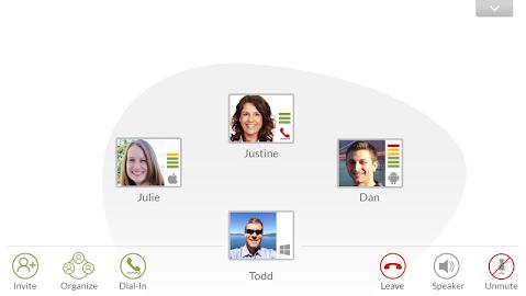 Voxeet Conferencing Screenshot 5