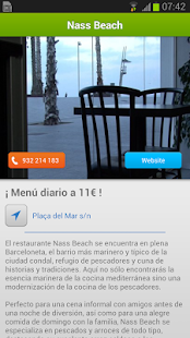 iBeach Información Playas - screenshot thumbnail
