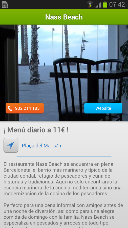 iBeach Información Playas - screenshot