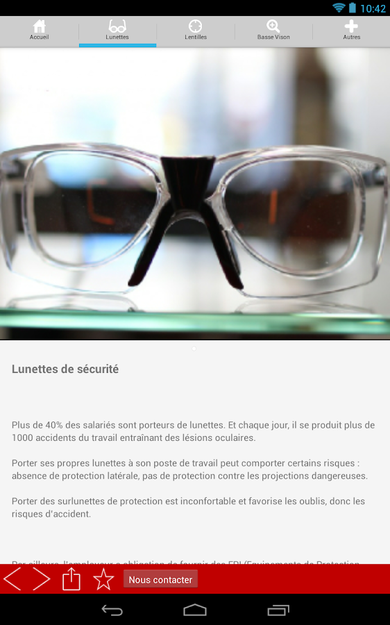 OPTIQUE PLANTADE- screenshot