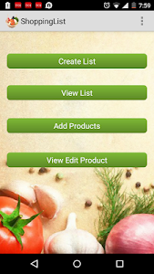 Grocery List Maker Shop Helper screenshot 0