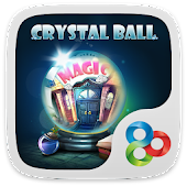 Crystal ball GO Launcher Theme