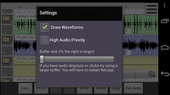 ReLoop Loop DAW - screenshot thumbnail