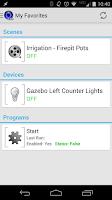 Screenshot of MobiLinc Pro