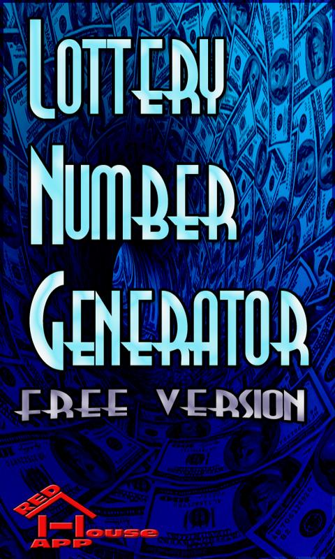 Lottery Numbers Generator Free - screenshot
