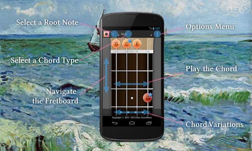 Ukulele Chord+Scale+Tuner.. LE - screenshot thumbnail