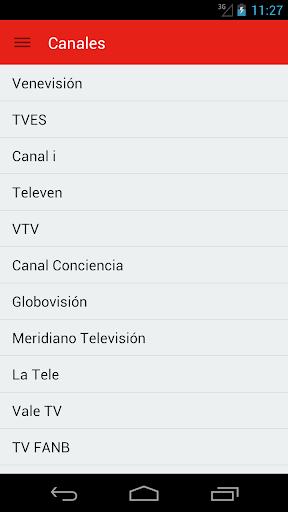 Televisión Venezolana Guía
