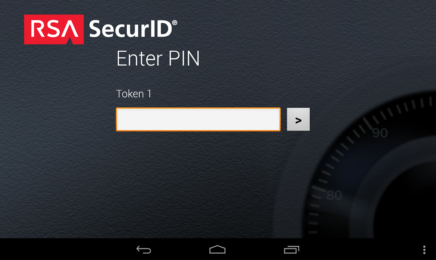 RSA SecurID Software Token - screenshot
