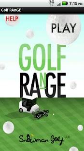 Golf RAnGE- screenshot thumbnail