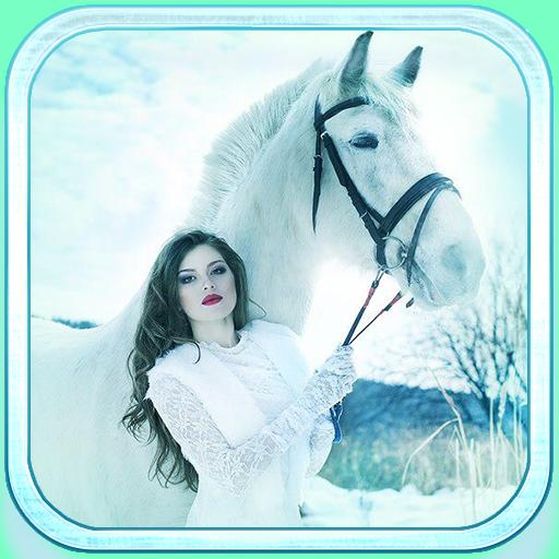 White Horse live wallpaper 個人化 App LOGO-硬是要APP