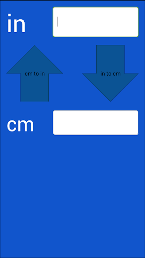 Inches Centimeters Converter