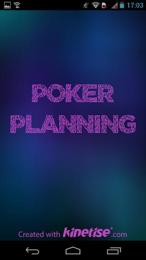 Poker planning help