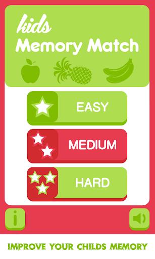 Fruits Match: Memory Game Free