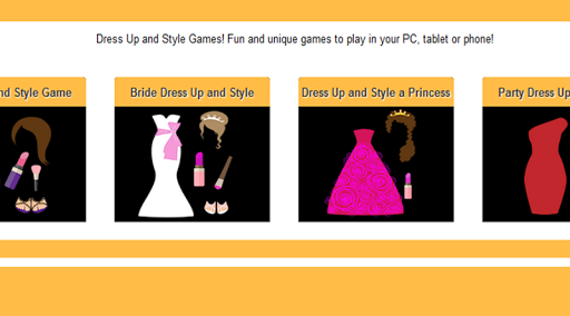 4 Dress Up and Style Games