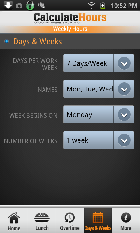 work hour calculator app